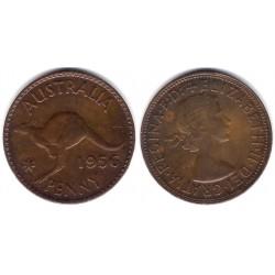 (49) Australia. 1956. 1 Penny (MBC)
