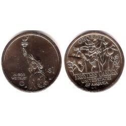 Estados Unidos de América. 2019(P). 1 Dollar (SC) Georgia