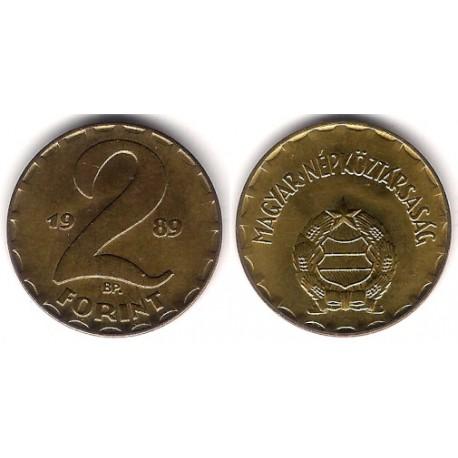 (591) Hungria. 1989. 2 Forint (SC)