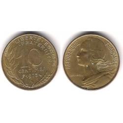 (929) Francia. 1973. 10 Centimes (MBC)