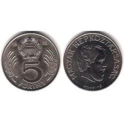 (594) Hungria. 1989. 5 Forint (SC)