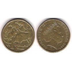 (489) Australia. 2009. 1 Dollar (MBC)