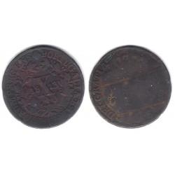 (348) Portugal. 1813. 10 Reis (BC)