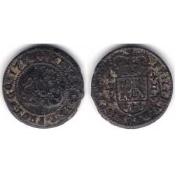 Felipe V. 1718. 2 Maravedi (BC) Ceca de Valencia