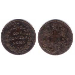 India Británica. 1835. Quarter Anna (MBC)