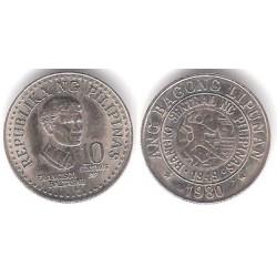 (226) Filipinas. 1980. 10 Sentimos (EBC)