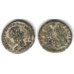 Constancio Galo. 351-354 d.C. Medio Centenional (BC)