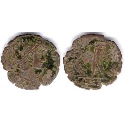 Teodosio I. 379-395 d.C. Centenionalis (RC)