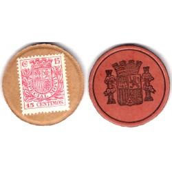 España (II República). 1937. 15 Céntimos (SC)