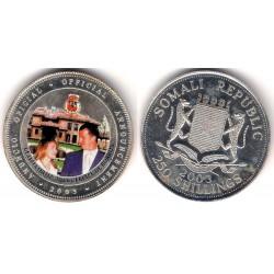 Somalia. 2003. 200 Shillings (Proof) (Plata)