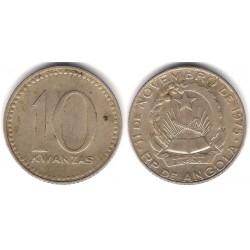 (86.1) Angola. 1977. 10 Kwanzas (BC+)