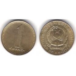 (83) Angola. 1977. 1 Kwanza (MBC+)