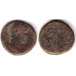 Adriano. 117-138 d.C. Sestercio (RC+)