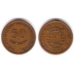 (81) Mozambique. 1957. 50 Centavos (MBC)