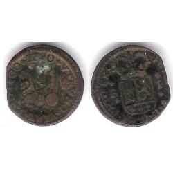 Felipe V. 1720. 1 Maravedi (MBC) Ceca de Burgos