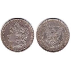 (110) Estados Unidos de América. 1901. 1 Dollar (MBC) (Plata)