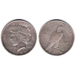 (150) Estados Unidos de América. 1924. 1 Dollar (MBC) (Plata)