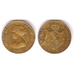 Isabel II. 1865. 2 Escudos (BC) (Oro) Ceca de Madrid