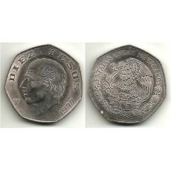 (477.1) Estados Unidos Mexicanos. 1977. 10 Pesos (MBC)