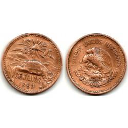 (439) Estados Unidos Mexicanos. 1953. 20 Centavos (BC+)