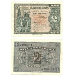 [1937] Billete de 2 Pesetas (MBC). Octubre-1937.