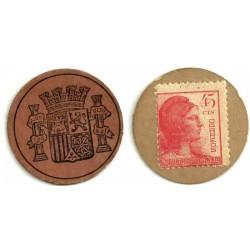 1937 45 Céntimos (MBC)