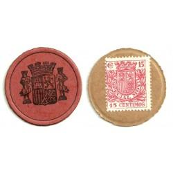 1937 15 Céntimos (MBC)