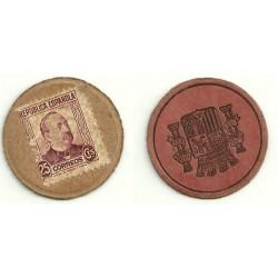 1931-35 25 Céntims (MBC)