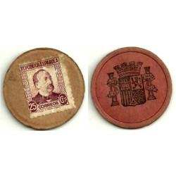 1931-35 25 Céntimos (MBC)