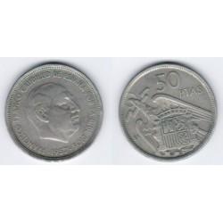 Estado Español. 1957*(BA). 50 Pesetas (MBC)