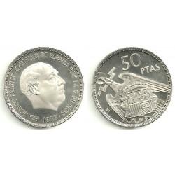 Estado Español. 1957*(74). 50 Pesetas (Proof)
