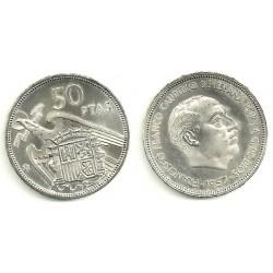 Estado Español. 1957*(73). 50 Pesetas (SC)