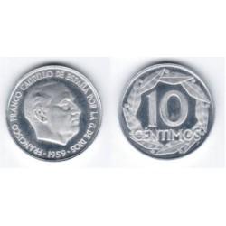 Estado Español. 1959. 10 Céntimos (SC)