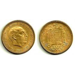 Estado Español. 1953*(19-56). 2½ Pesetas (EBC)