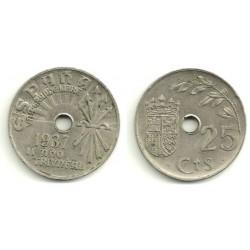 Estado Español. 1937. 25 Céntimos (MBC)