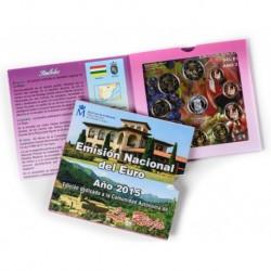 España 2015 Cartera Oficial (Com. La Rioja) (SC)