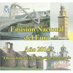 España 2014 Cartera Oficial (Com. Galicia) (SC)