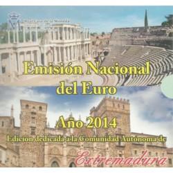 España 2014 Cartera Oficial (Com. Extremadura) (SC)