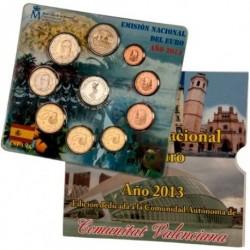 España 2013 Cartera Oficial (Com. Valenciana) (SC)