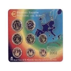 España 2002 Cartera Oficial (SC)