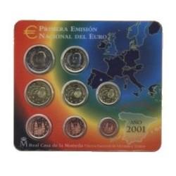 España 2001 Cartera Oficial (SC)