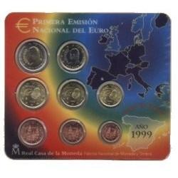 España 1999 Cartera Oficial (SC)
