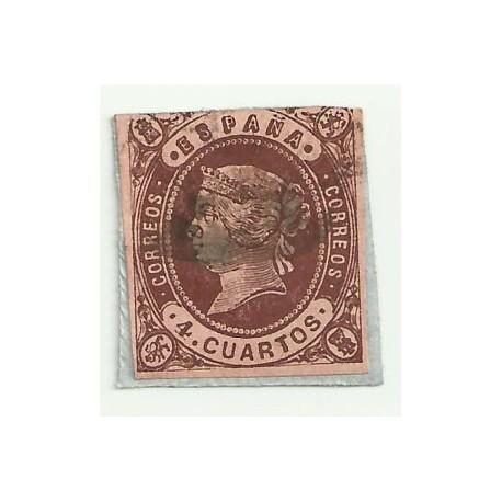 (58) 1862. 4 Cuartos