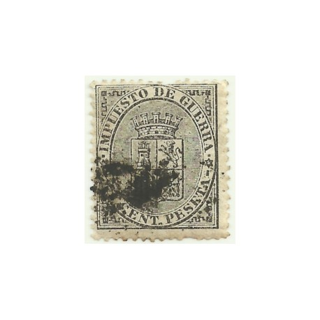 (141) 1874. 5 Céntimos de Peseta