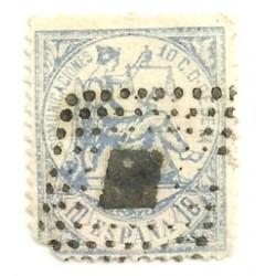 (145) 1874. 10 Céntimos