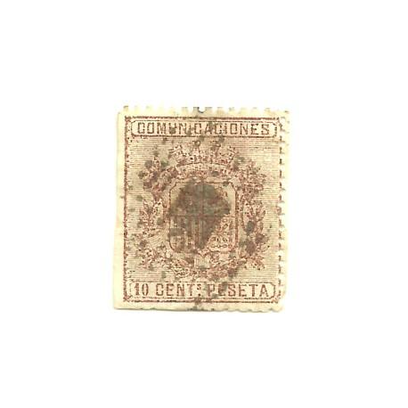 (153) 1874. 10 Céntimos de Peseta