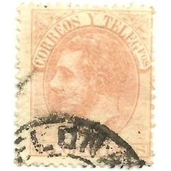 (210) 1882. 15 Céntimos. Alfonso XII (Usado)