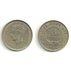 (21) Africa del Oeste Británica. 1946. 3 Pence (MBC)