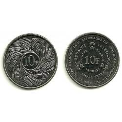 Burundi. 2011. 10 Francs (SC)
