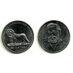 Congo. 2002. 50 Centimes (SC)